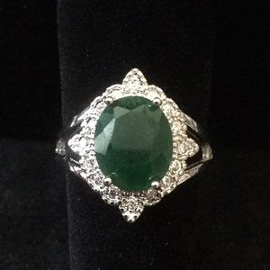 Genuine Emerald Ring From India